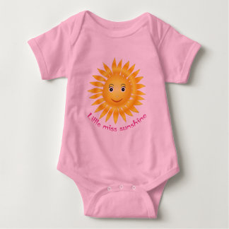 Little miss sunshine baby bodysuit