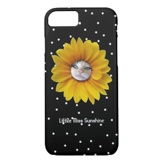 Little Miss Sunshine Smiling Cat iPhone 8/7 Case