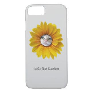 Little Miss Sunshine Smiling Cat iPhone 8/7 Case