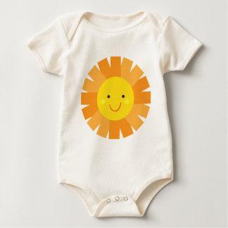 Little Miss Sunshine Sun Invitation Polka Dot Baby Bodysuit