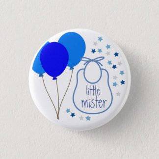 Little Mister (It's a Boy) Button