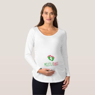Little MistleToes Maternity Long Sleeve T-Shirt