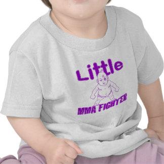 Little MMA Fighter Martial Arts Baby Tees