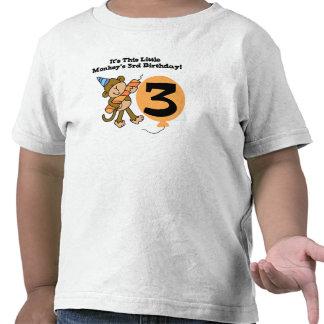 Little Monkey 3rd Birthday Shirts