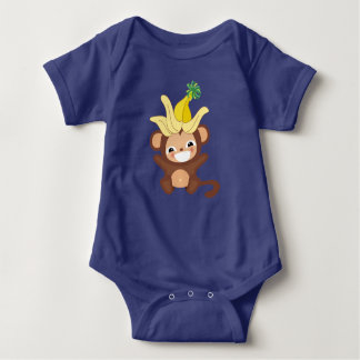 Little Monkey Bodysuit 101