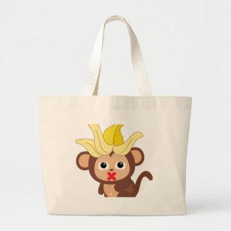 Little Monkey Collection 123 Jumbo Tote Bag