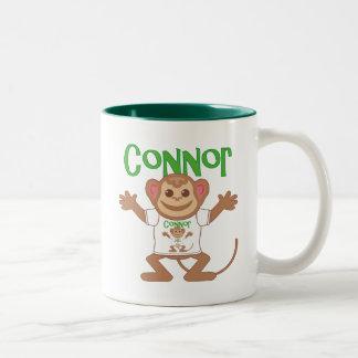 Little Monkey Connor Two-Tone Coffee Mug