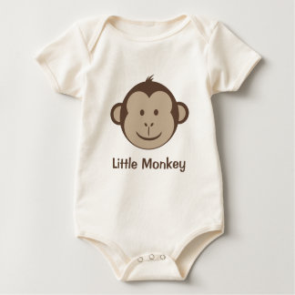 Little Monkey Face Baby Bodysuit