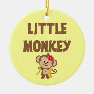 Little Monkey (Girl) Christmas Ornament