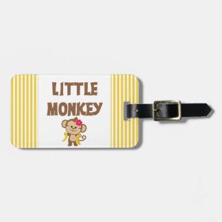 Little Monkey (Girl) Luggage Tag