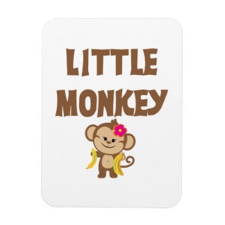 Little Monkey (Girl) Magnet