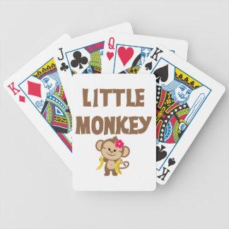 Little Monkey Girl Poker Cards