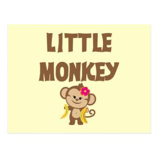 Little Monkey (Girl) Postcard