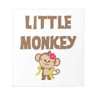 Little Monkey Girl Scratch Pad