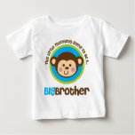 Little Monkey Going To Be A Big Brother Tees