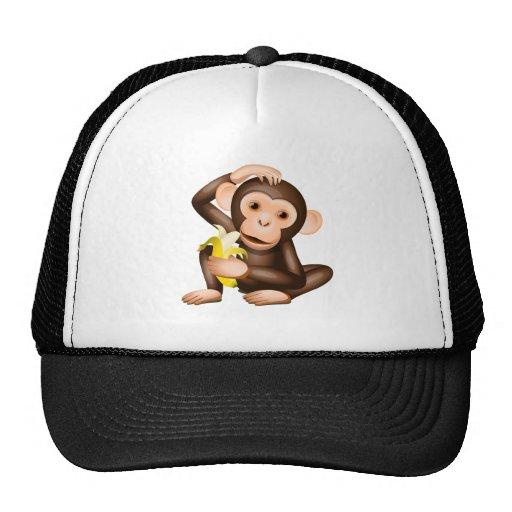 Little monkey mesh hat