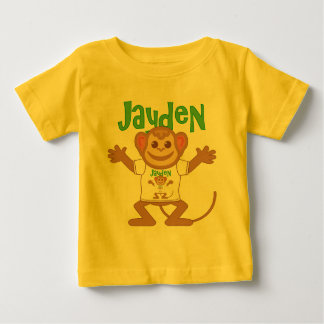 Little Monkey Jayden Baby T-Shirt