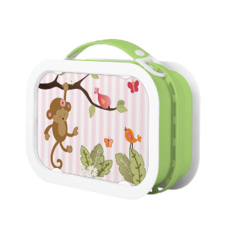 Little Monkey Jungle Jill Lunch Box