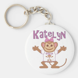 Little Monkey Katelyn Key Ring