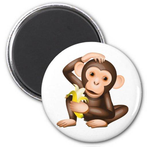Little monkey fridge magnets