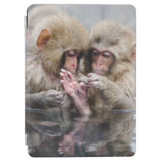 Little Monkeys | Hot Springs, Japan iPad Air Cover