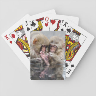 Little Monkeys | Hot Springs, Japan Playing Cards
