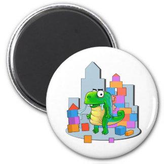 little Monster 6 Cm Round Magnet