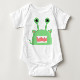 Little Monster Baby Halloween Outfit Baby Bodysuit