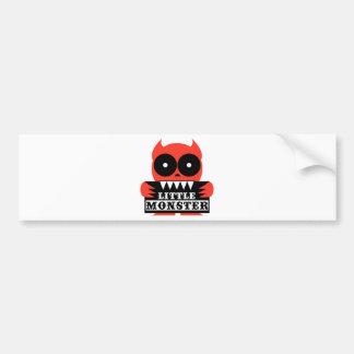 Little Monster Bumper Stickers