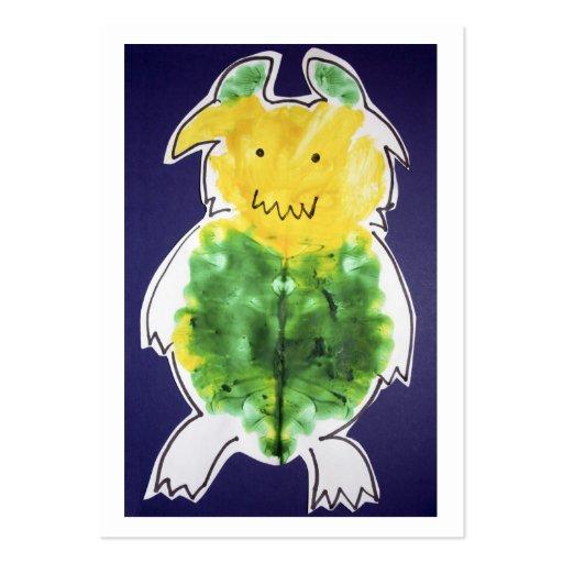 Little Monster business card + 2012 calendar