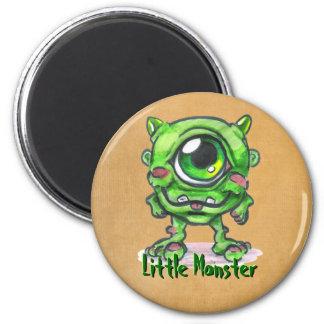 Little Monster Button Refrigerator Magnet