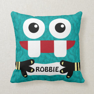 Little Monster Child's Personalized Cushion