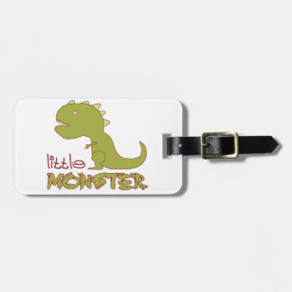 Little Monster - Customisable Luggage Tag