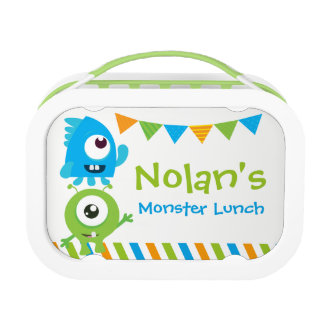 Little Monster Lunch box, Boys School Lunch box