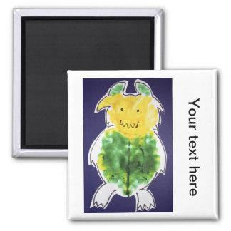 Little Monster - portrait template design Fridge Magnet