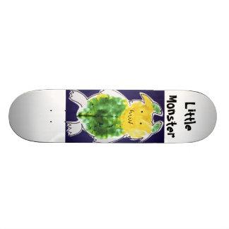 Little Monster - portrait template design Custom Skateboard