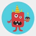 Little Monster Stickers