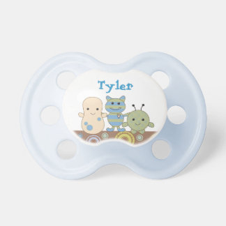 Little Monsters Boy Personalized Name Pacifier