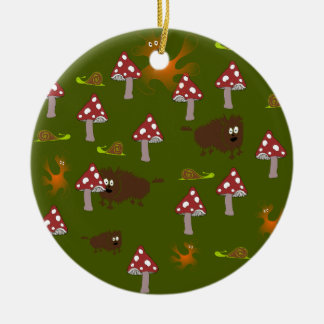 Little monsters christmas ornament