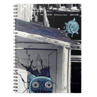 little monsters note book
