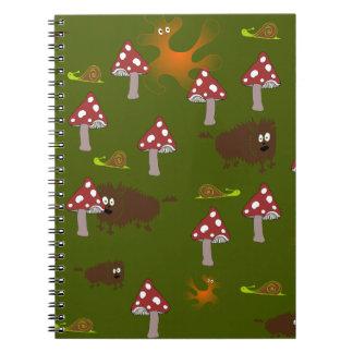 Little monsters notebook