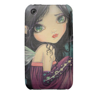 Little Moon Gothic Big-Eye Fairy Art iPhone 3 Cover