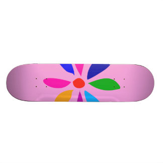 Little Morning Flower Skateboard