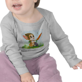 Little Mouse Hero - Baby Shirt