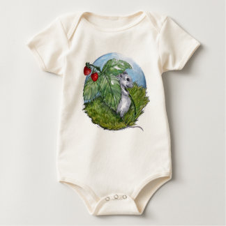 Little Mouse Infant Organic Creeper