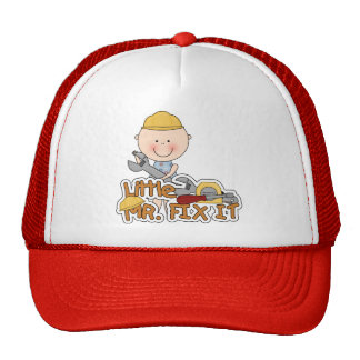 Little Mr. Fix It - Wrench Tshirts and Gifts Cap