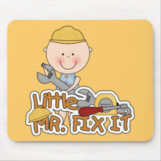 Little Mr. Fix It - Wrench Tshirts and Gifts Mouse Pad