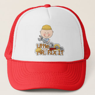 Little Mr. Fix It - Wrench Tshirts and Gifts Trucker Hat