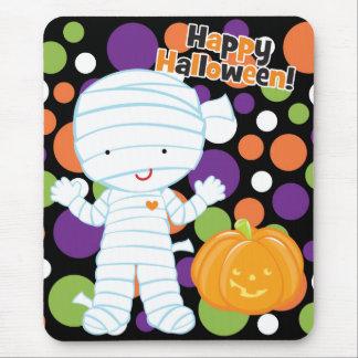 Little Mummy & Pumpkin Mouse Pad
