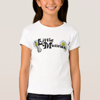 Little Musician St. Cecilia Catholic girl's tshirt